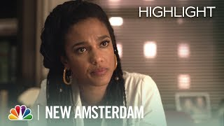 Sharpe Opens Up to Max About IVF - New Amsterdam Episode Highlight