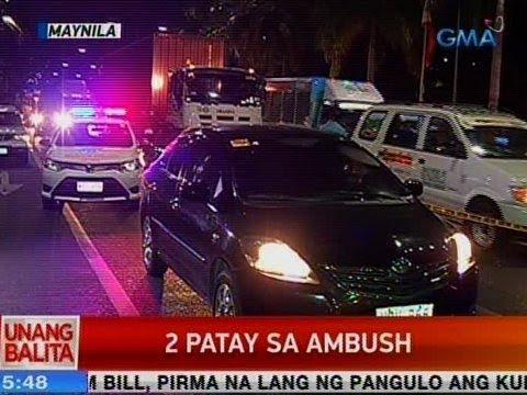UB: 2 patay sa ambush sa Maynila