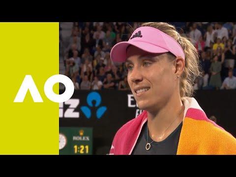 Angelique Kerber on-court interview (2R) | Australian Open 2019