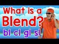 What Is a Blend?   bl, cl, gl, sl   Writing & Reading Skills for Kids   Phonics Song   Jack Hartmann