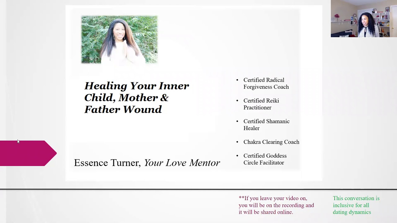 Healing Your Inner Child and Mother/Father Wounds 3 Part Series
