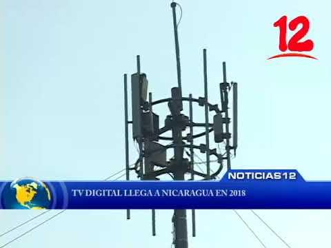 Tv Digital llega a Nicaragua en 2018.