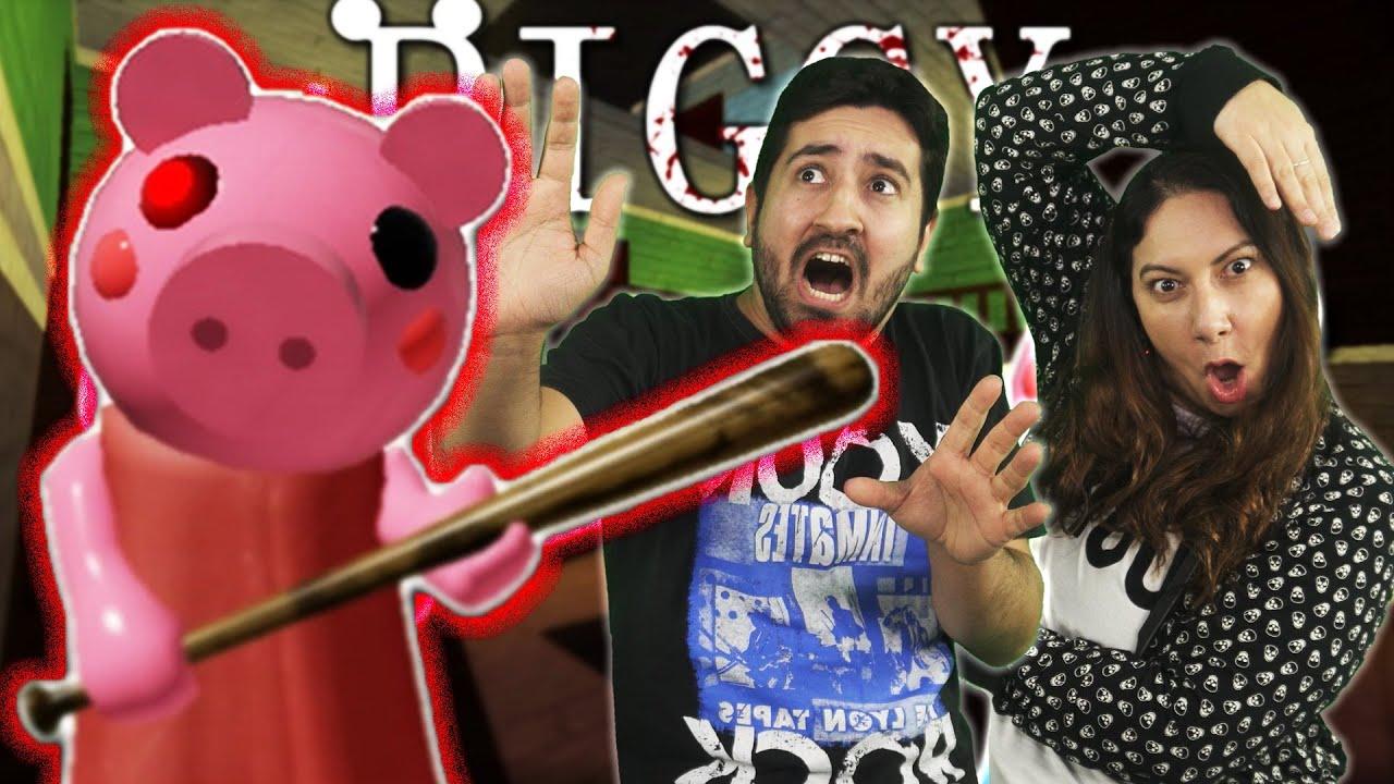 FINALMENTE ENFRENTAMOS A PIGGY | Jogando Roblox #6