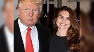 American President Donald J Trump is getting married to Hope Hicks