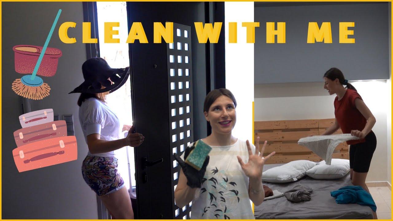 Πως καθαρίζω πριν ταξιδέψω και δοκιμάζω νέα προϊόντα | Vanessa Mi
