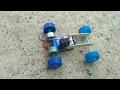 How To Make Power Car Very Simple - DIY Mini Electric CAR   Mini Drifting Electric Car