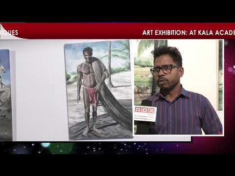 ART EXHIBITION BY THREE  TALENTED GOAN ARTISTS AT KALA ACADEMY