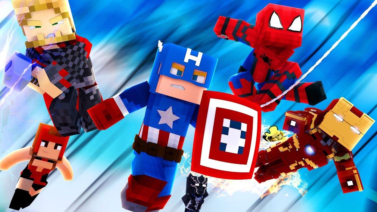 майнкрафт скины супергероев #6