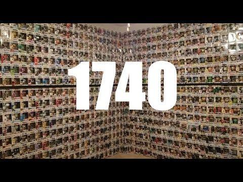 Collection Tour  Pop Room  1740 Piece Funko Pop Collection  Room Tour