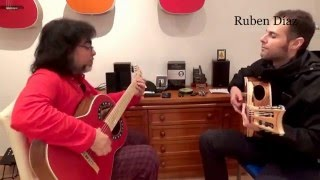 Convite with Boss Custodio Ferreira / CFG Contemporary Flamenco Guitar / Spain Ruben Diaz