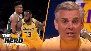 LeBron James is the MVP and it's not even close — Colin Cowherd | NBA | THE HERD