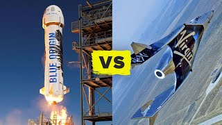 Blue Origin vs Virgin Galactic! (Watch their launches)
