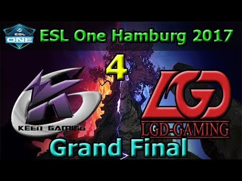 Keen Gaming vs LGD Game 4 | Grand Final | China Qualifier | ESL One Hamburg 2017