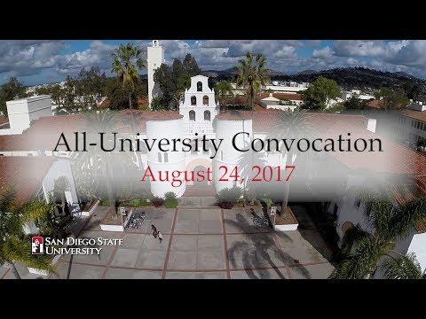 SDSU All University Convocation 2017