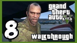 "Grand Theft Auto V Walkthrough PART 8 [PS3] Lets Play Gameplay TRUE-HD QUALITY ""GTA 5 Walkthrough"""