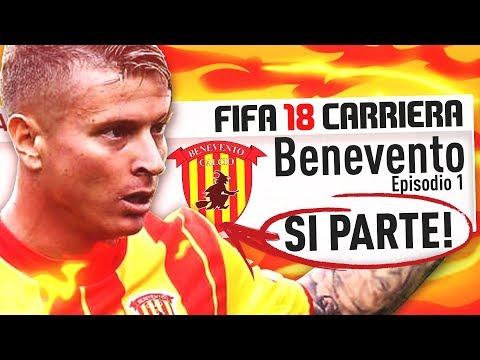 BENEVENTO, SI PARTE! | FIFA 18 Carriera Allenatore #1