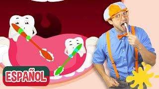 Canción Cepilla tus Dientes con Blippi Español | Videos Educativos | Aprender los Numeros