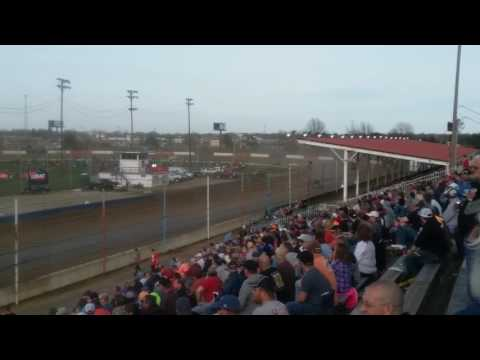 USAC Silver Crown Qualifying Race  Terre Haute Action Track