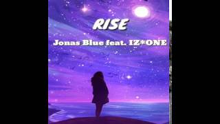 Jonas Blue ft. IZ*ONE - Rise (Easy Lyrics Video Potrait Ver.)