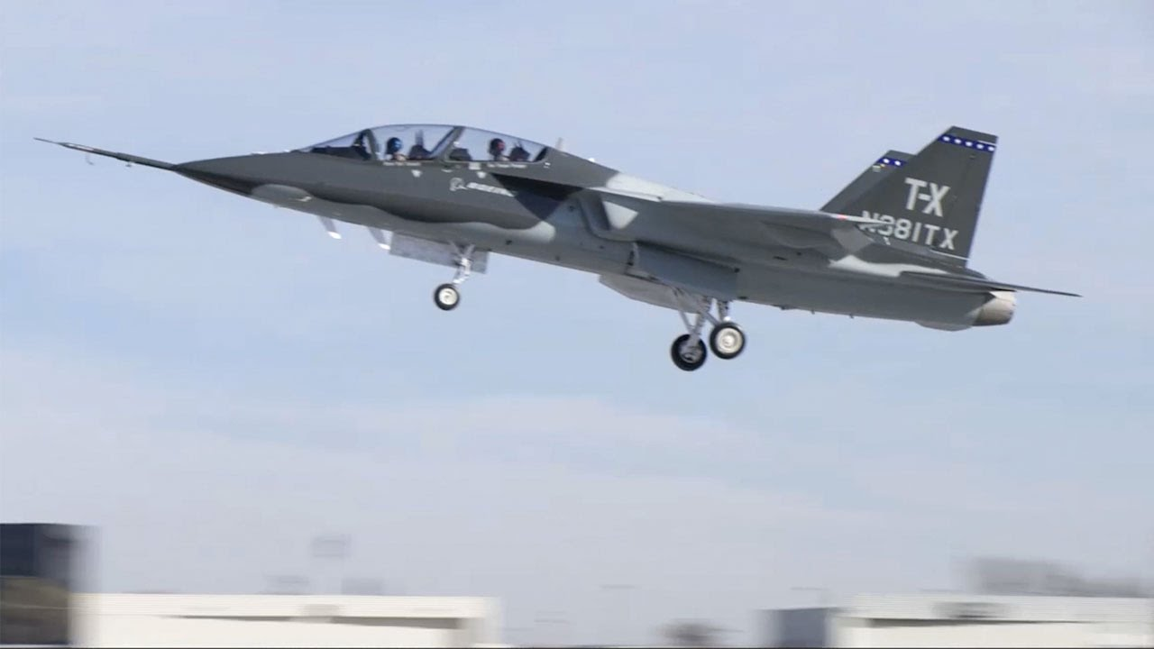 Picture Of Northrop Grumman T X Model 400 5th Generation Advanced Jet Trainer Aircraft Proposal