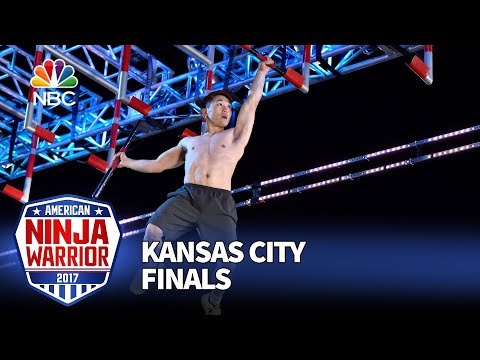Tyler Yamauchi at the Kansas City City Finals - American Ninja Warrior 2017