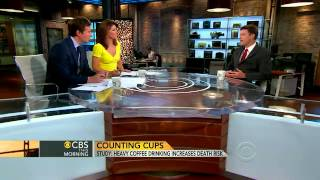 Drop that java  Heavy coffee drinking could be deadly   CBS News Video