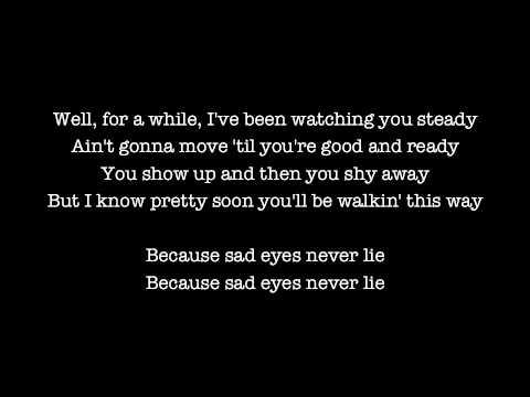 Bruce Springsteen - Sad Eyes (Lyrics)