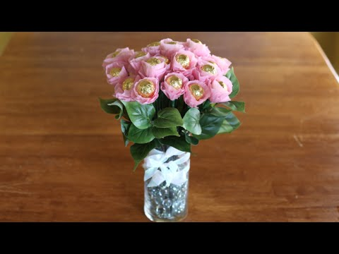 How To Make A Chocolate Flower Bouquet!