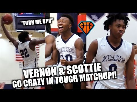 Scottie Barnes & Vernon Carey Are COMING FOR THE #1 SPOTS in Their Class!!   University vs WA