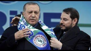 Erdoğan kürəkənini nazir vəzifəsinə təyin etdi və Bakıya gəldi
