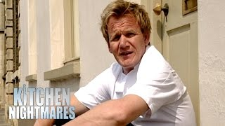 Angry Owner Kicks Gordon Out | Kitchen Nightmares UK