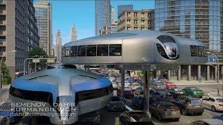 Mãn nhãn với concept xe bus của tương lai