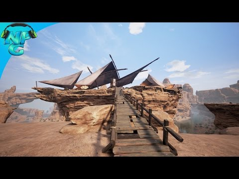S1E6 The Pirate Ship that Sails on Land! Conan Exiles PVP Gameplay