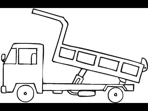 Como Desenhar Um Caminhão