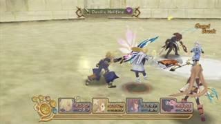 Tales of Symphonia Dawn of the New World: Team Ratatosk vs Team LOID