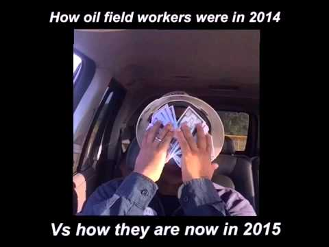 How oilfield workers in 2014 vs how they are now in 2015 lol