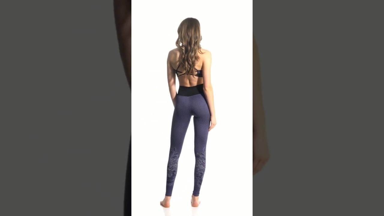 292b93bbeee4e NUX Botanic Seamless Yoga Leggings | SwimOutlet.com - YouTube