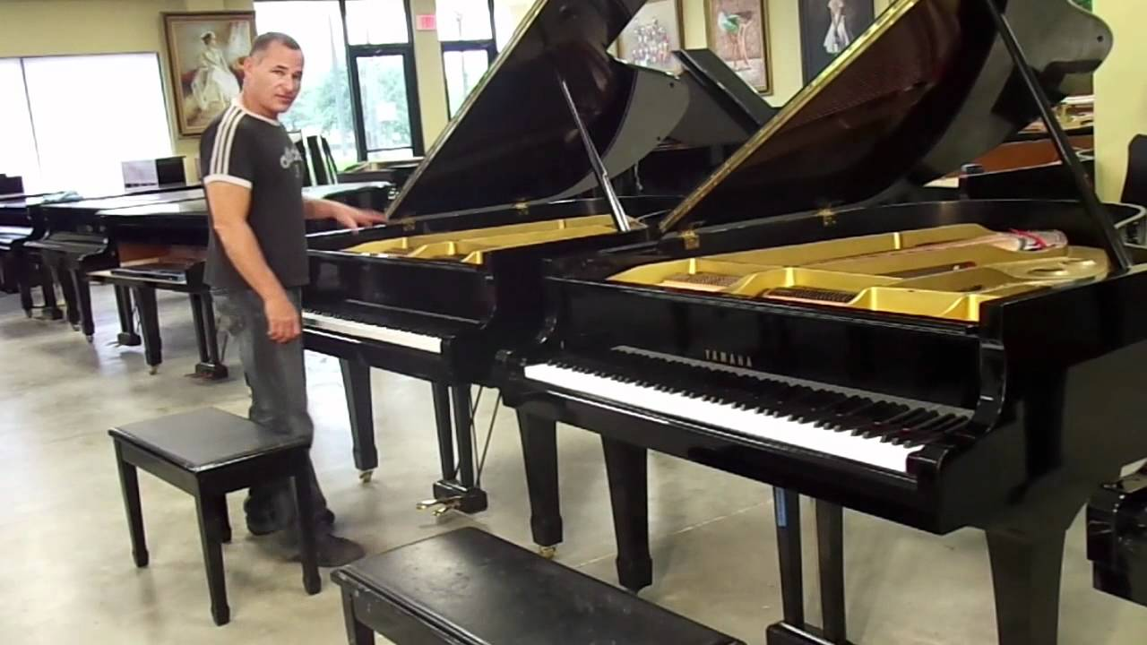 Yamaha G2 Baby Grand Comparison Youtube