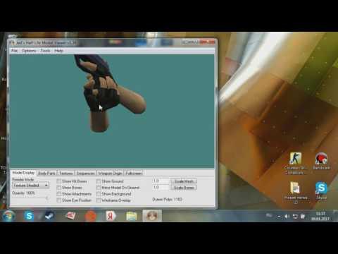 Как создать свои скины на оружие в кс 1.6 {Без фотошопа} через paint