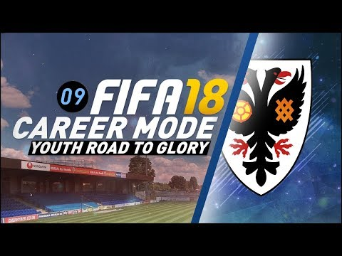FIFA 18 Youth Career Mode RTG Ep9 - NERVY TIMES AHEAD!!