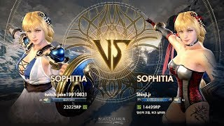 Gambar cover Soulcalibur VI - Shinji.jr (SOPHITIA) vs jake19910831 (SOPHITIA) Rank