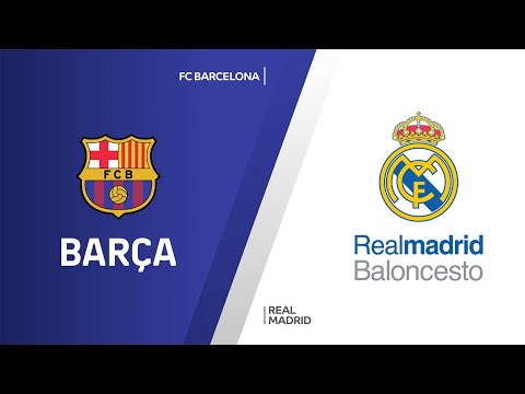 FC Barcelona - Real Madrid Highlights | EuroLeague, RS Round 5