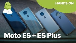 Moto E5 and E5 Plus hands-on!