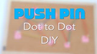 Push Pin Number Dot to Dot