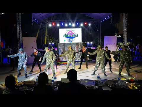 P SQUAD - Agilakas Gumalaw Dance Competition 2nd Year @ Enchanted Kingdom. Sept 2 2018.