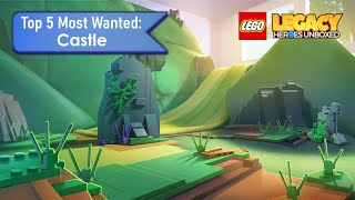 Top 5 Most Wanted Castle - Lego Legacy: Heroes Unboxed