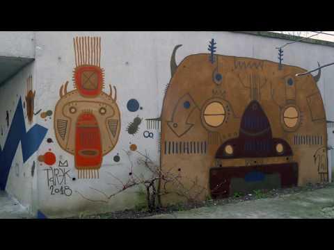 Street art à l'ENC Bessières