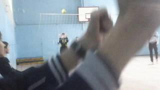 Веселый момент моего друга на уроке физкультуры