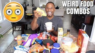25 Weird Food COMBOS | Crazy Combinations | Alonzo Lerone