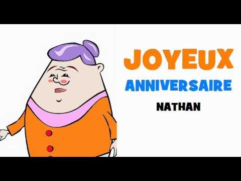 Joyeux Anniversaire Nathan Youtube